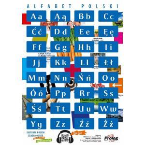 Plakat Alfabet polski
