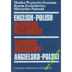 Słownik Handlowy Angielsko-Polski PWE