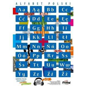 """Plakat Alfabet polski"""""""""""