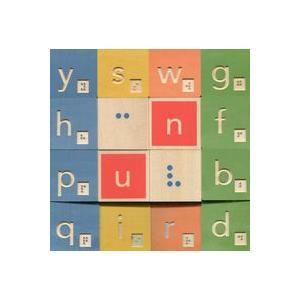 Alfabet Braillea. Drewniane Klocki