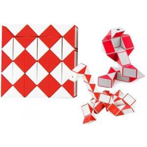 Układanka Logiczna Wąż Rubika Magia 62 cm Czerwony