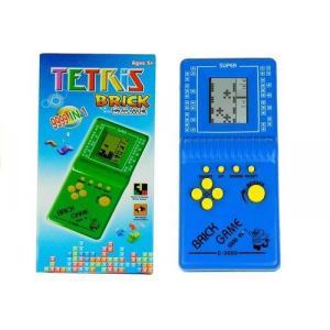 Gra Elektroniczna Tetris kieszonkowa niebieska
