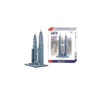Puzzle 3D Petronas Towers 2803-A