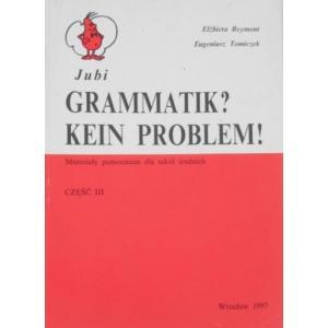 Grammatik Kein Problem Cz Iii