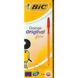 Długopis Bic orange czerwony