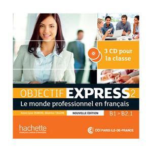 Objectif Express Nouvelle 2. CD do Podręcznika