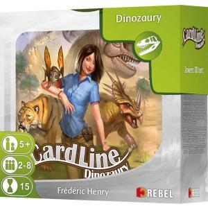 Cardline: Dinozaury. Gra Planszowa