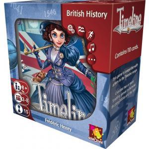Timeline: British History. Gra karciana (wydanie angielskie)