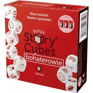 Story Cubes: Bohaterowie. Gra Planszowa