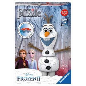 Puzzle 3D. Disney Frozen II. Kraina Lodu II. Olaf