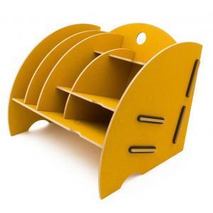 Mini organizer na biurko. Złoto-żółty. Werkhaus