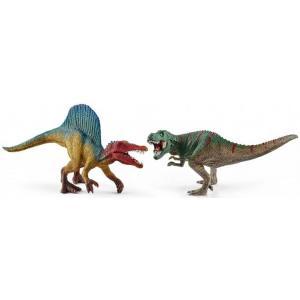Figurka dinozaur Zestaw Spinosaurus T-rex