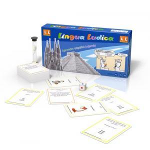 Gra językowa Hiszpański Lingua Ludica Espanol A2-B2 Gra kompaktowa