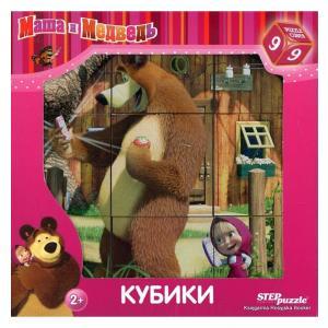 Masza i Niedźwiedź Klocki 12 Kubików
