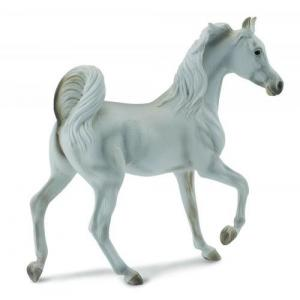 Figurka koń (klacz rasy arabskiej maści szarej)