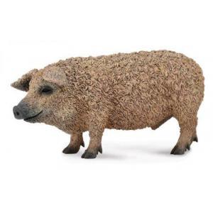 Figurka świnia węgierska mangalica