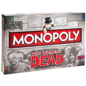Monopoly Walking Dead Gra (Wersja angielska)