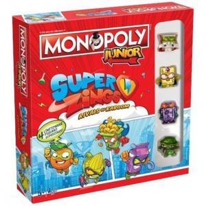 Monopoly junior. Super Zings