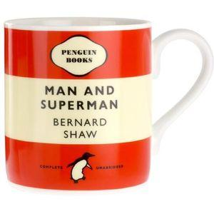 Penguin Mug: Man and Superman