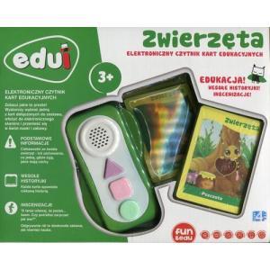 EDUI Elektroniczny czytnik kart edukacyjnych Zwierzęta