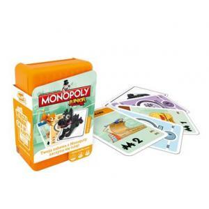 Monopoly Junior (Shuffle). Gra Karciana