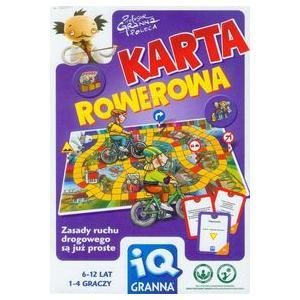 Karta Rowerowa Gra planszowa