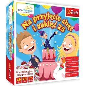 YDP Na przyjęcie chęć i zaklęć 25 gra planszowa edukacyjno-logopedyczna
