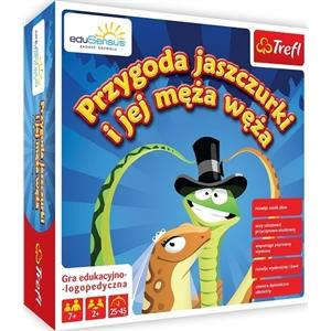 YDP Przygoda jaszczurki i jej męża węża gra planszowa edukacyjno-logopedyczna