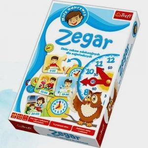 Zegar - zbiór zabaw edukacyjnych dla najmłodszych
