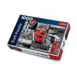 Londyn Kolaż Puzzle 1000 Elementów Karton