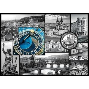 Praga Kolaż Puzzle 1000 Elementów