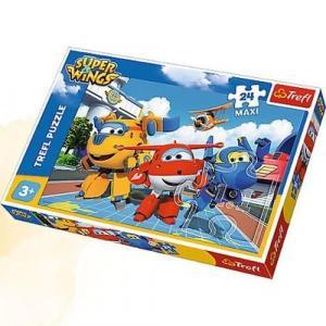 Puzzle Maxi 24 Wesołe samoloty
