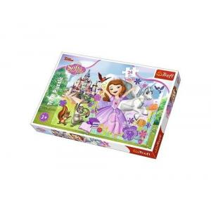 Puzzle Maxi 24 Kolorowy świat Zosi Jej Wysokość Zosia
