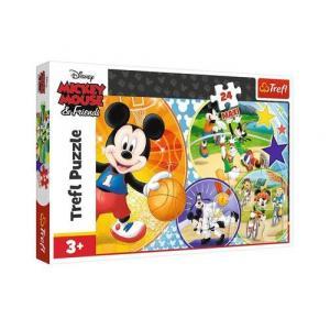 Puzzle 24 maxi Myszka Miki Czas na sport