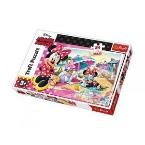 Puzzle 24 maxi Wakacje Minnie