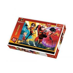Puzzle Iniemamocni Incredibles 2 100