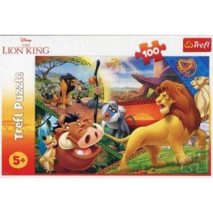 Puzlle 100 Przygody Simby Król Lew