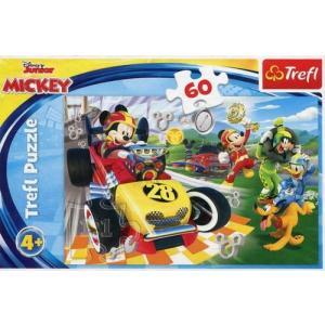 Puzzle 60 Disney Junior Mickey Rajd z przyjaciółmi