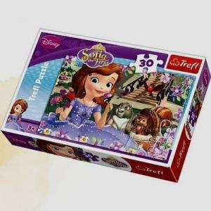 Puzzle 30 Sofia the first Pachnące róże