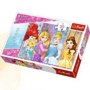 Puzzle 30 Bajkowe Księżniczki
