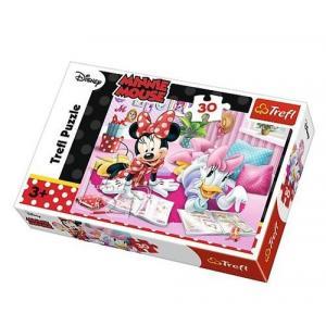 Puzzle 30 Myszka Minnie Najlepsze przyjaciółki