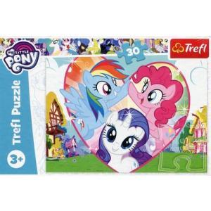 Puzzle 30 My Little Pony Razem Lepiej