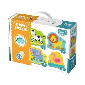 Puzzle baby Classic Zwierzątka na safari