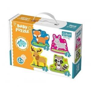 Puzzle Baby Classic Zwierzątka leśne