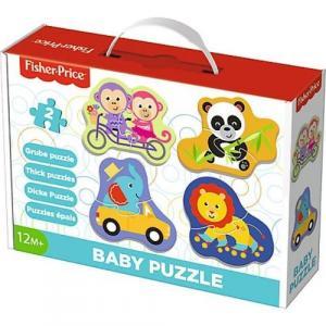 Puzzle Fisher-Price Baby Classic Radosne zwierzątka