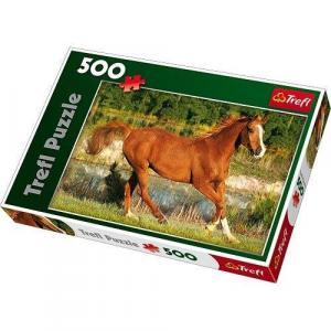 Puzzle 500 Piękno galopu