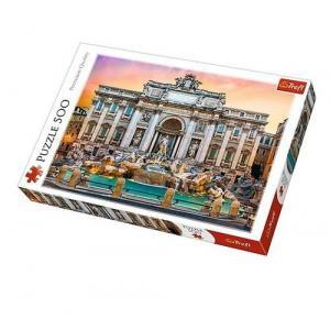 Puzzle Fontanna di Trevi Włochy 500