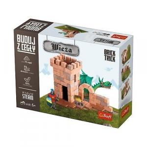 Puzzle 3D Buduj z cegły Wieża S