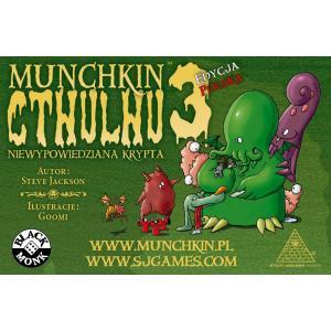 Munchkin Cthulhu 3 - Niewypowiedziana Krypta. Dodatek do Gry Karcianej