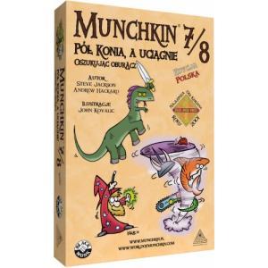 Munchkin 7/8 - Pół Konia a Uciągnie Oszukując